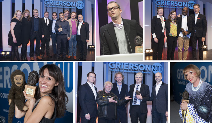 Grierson 2014:  The British Documentary Awards