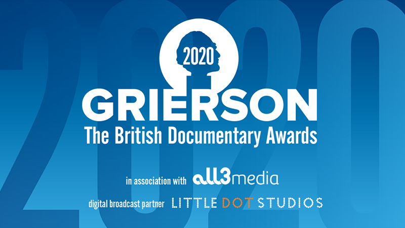 Grierson Awards 2020 nominees